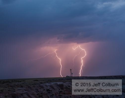 Lightning Strike by Jeff Colburn