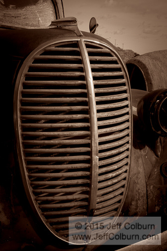Old Car Grill by Jeff Colburn
