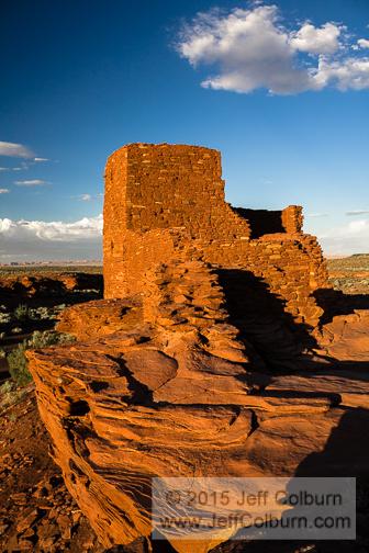 Wukoki Pueblo by Jeff Colburn