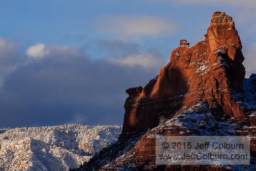 Sedona Winter by Jeff Colburn
