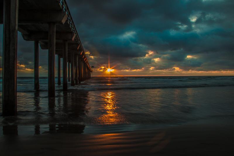 SD Sunset Scripps Pier by Craig McGregor