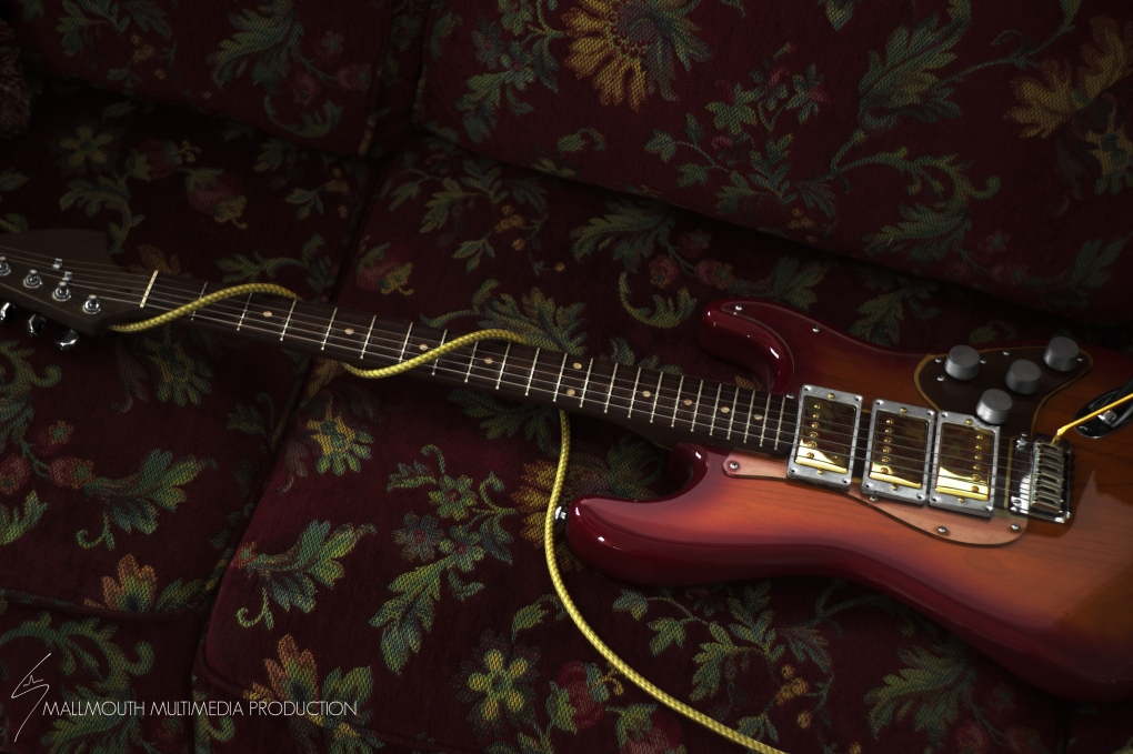 Angry Strat by Hudson May