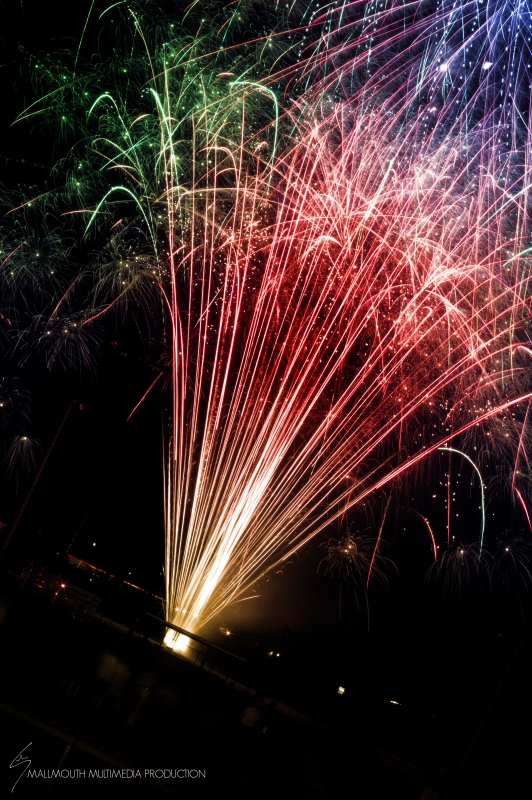 Fireworks by Hudson May