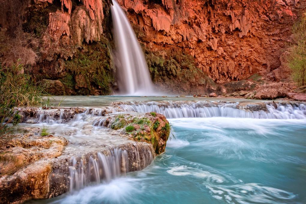 Havasupai Falls by Joel Cleare