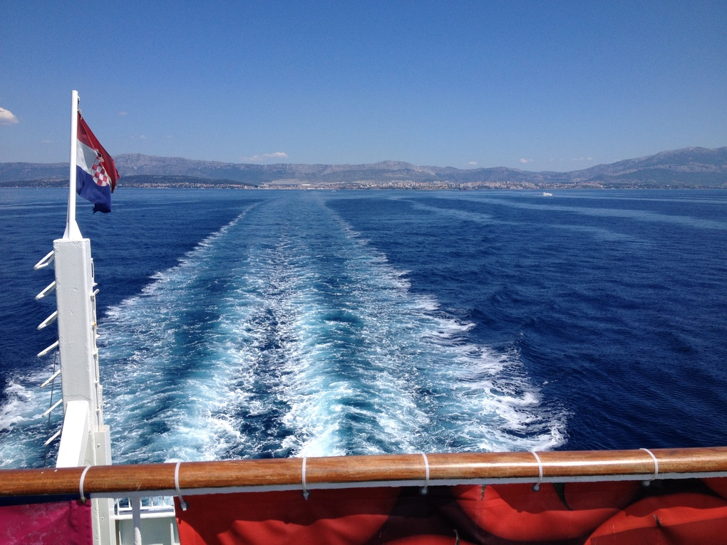 Trip to Komiza, island of Vis by Mario Stegic