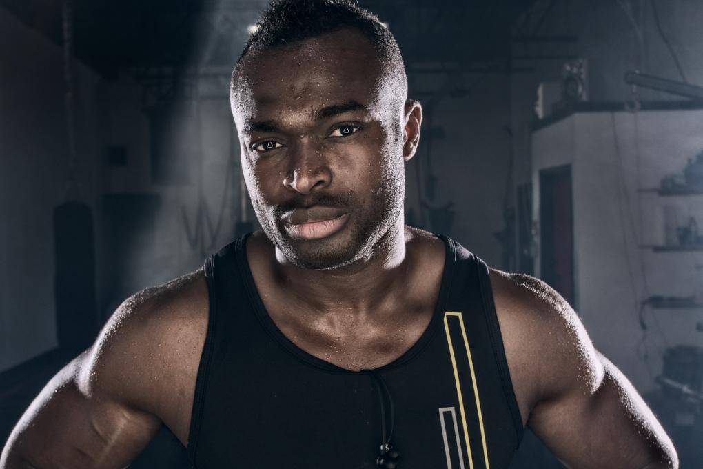 Athletic Portrait by Rob Trendiak