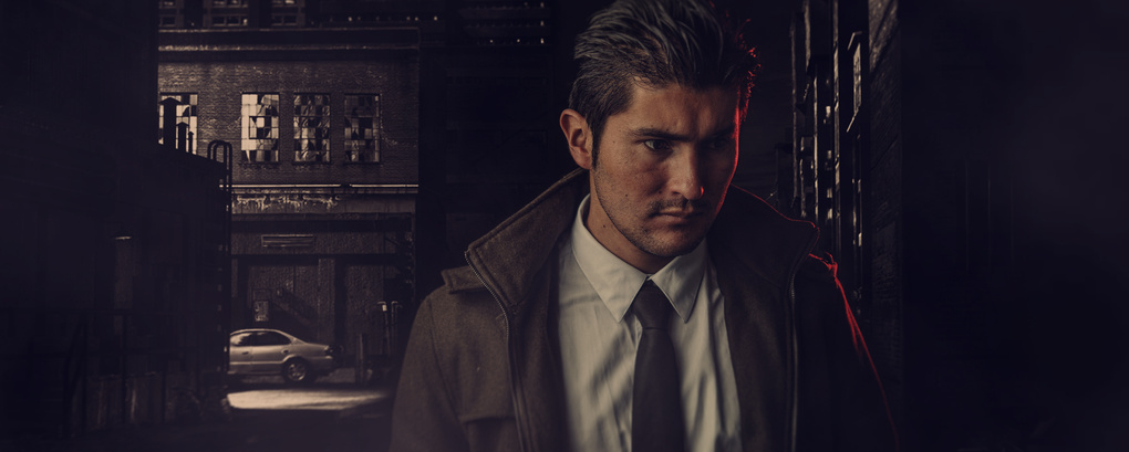 detective photoshoot by andres gonzalez