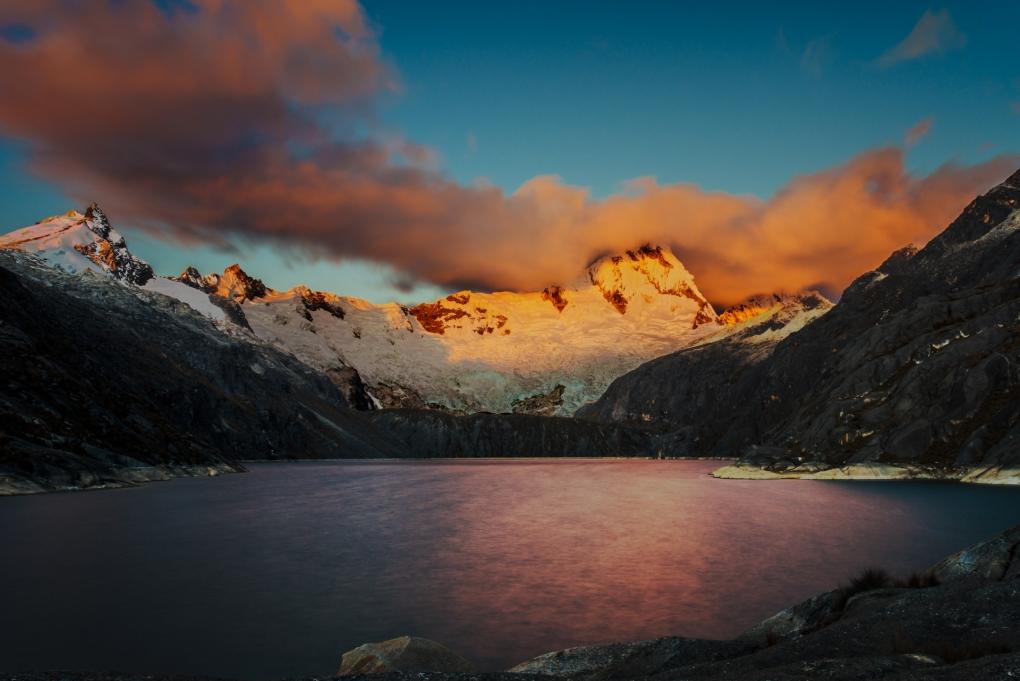 Santa Cruz Norte at Sunset by Eric Hodges