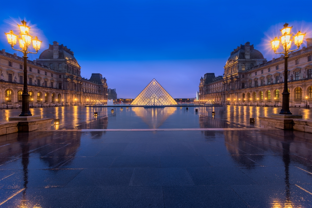 Louvre Reflections || Paris, France by Aneesh Kothari