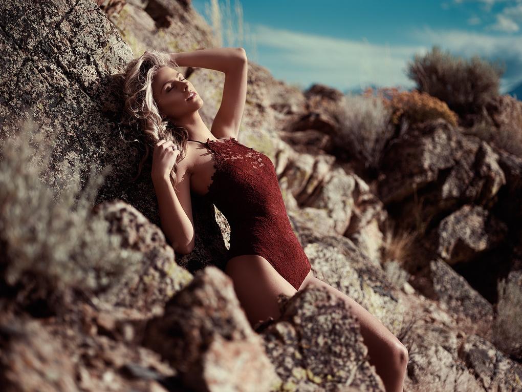 Sydney in the desert by Bill Larkin