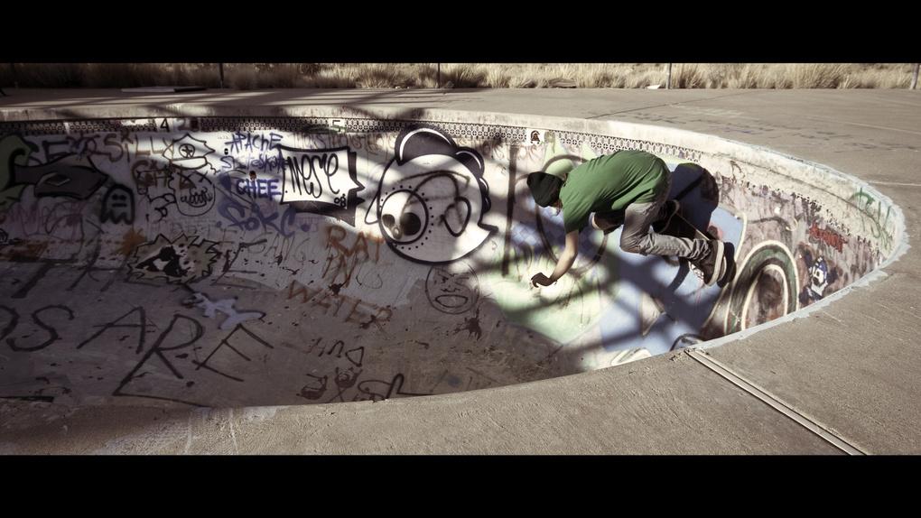 Desert Skateboarder by Dan Cavallari