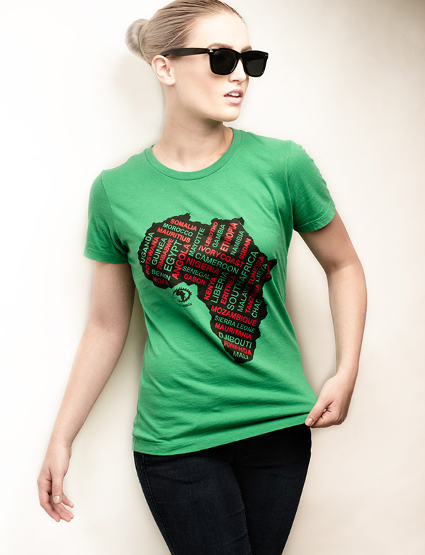 African Fashion T-Shirt by Paul Hance