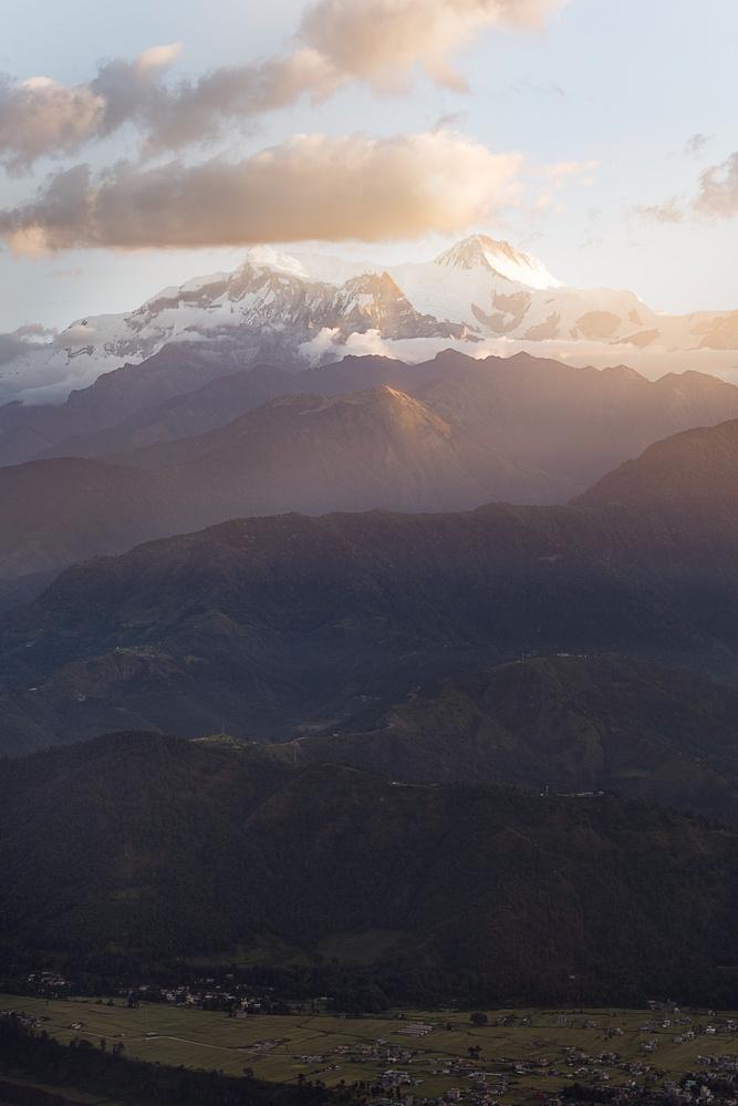 Annapurnas by ganesh ghimire