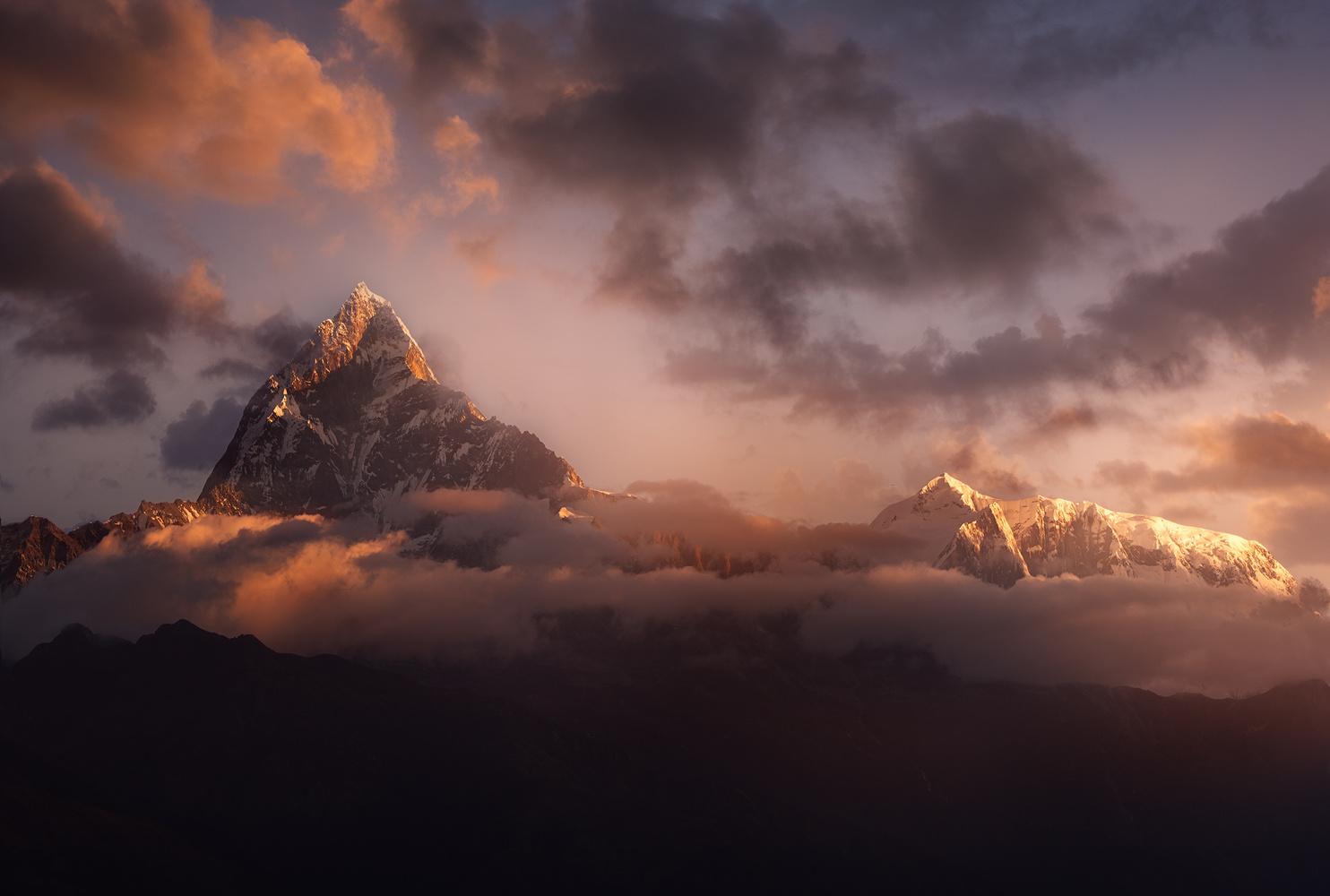 Sarangkot Nepal by ganesh ghimire