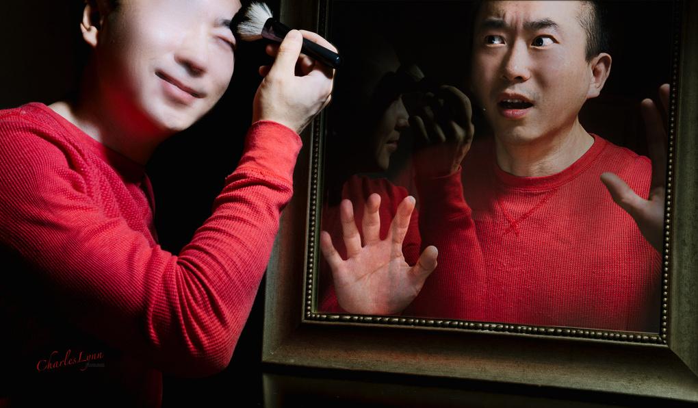 Self-Portrait by Charles Lynn