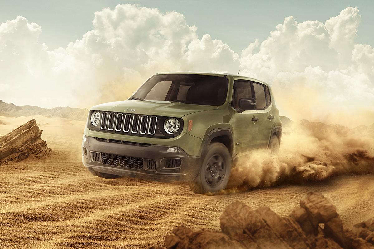 Jeep Renagade by Bruno Vaz