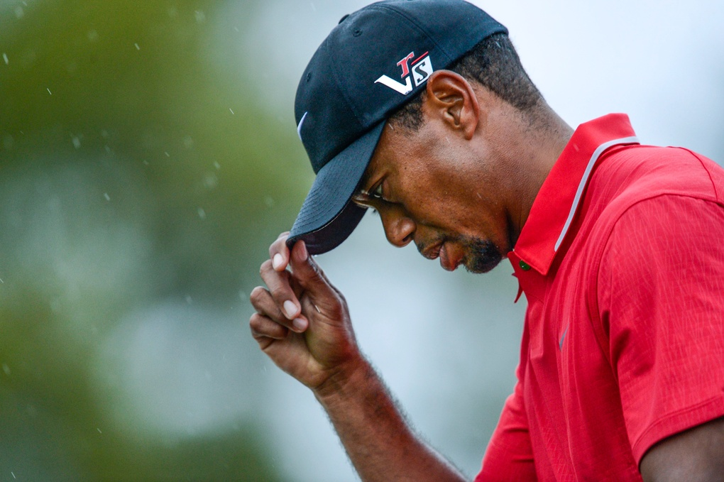Tiger Woods by Jack Gruber