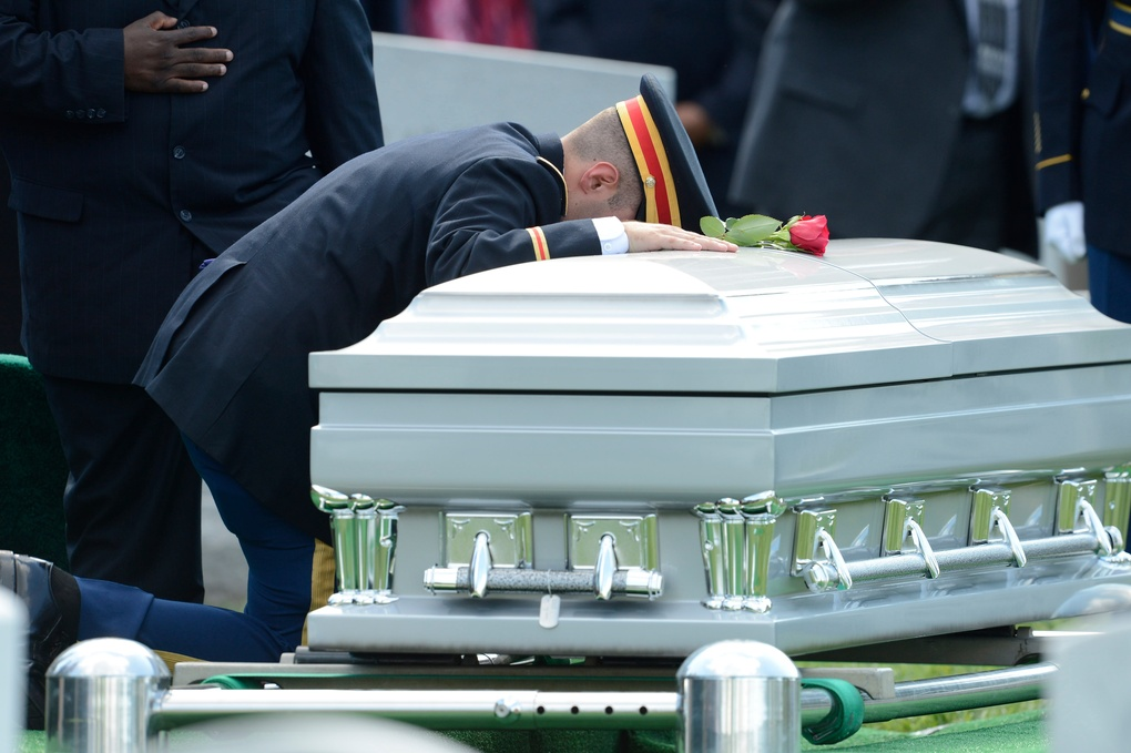 Army Major Gen. Harold Green buried at Arlington National Cemetery by Jack Gruber