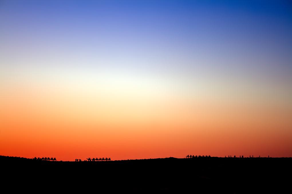 Sunset Caravan by Rob Mintzes