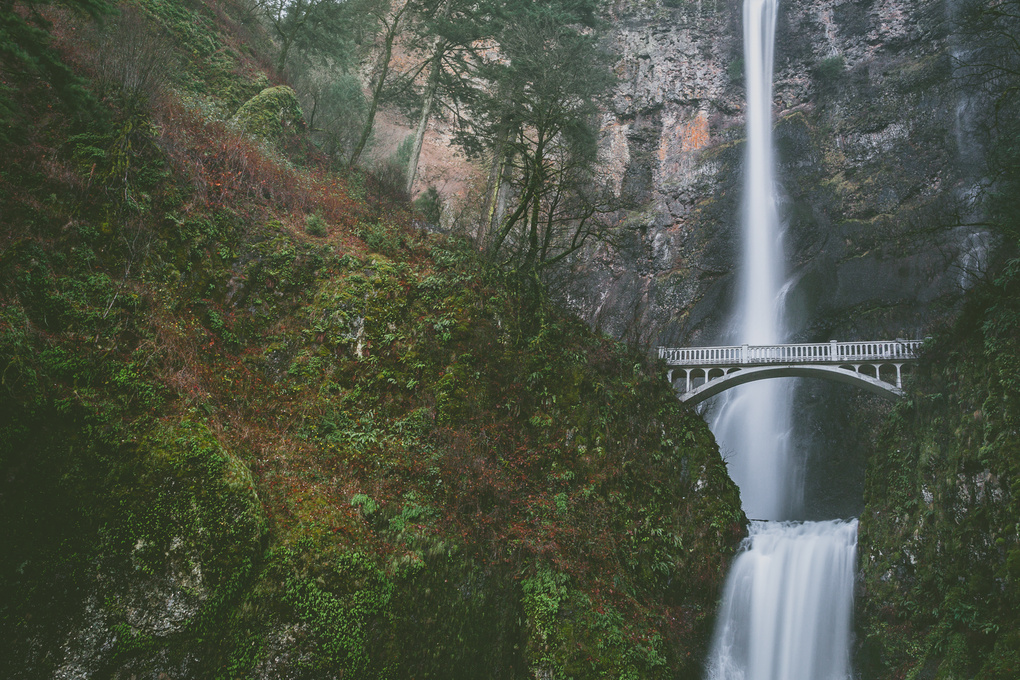 Across the Waterfall by Briana May