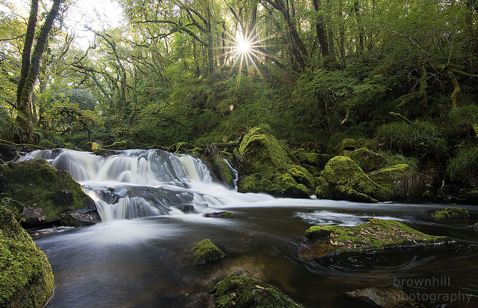 sun trust waterfall  by stephen brownhill