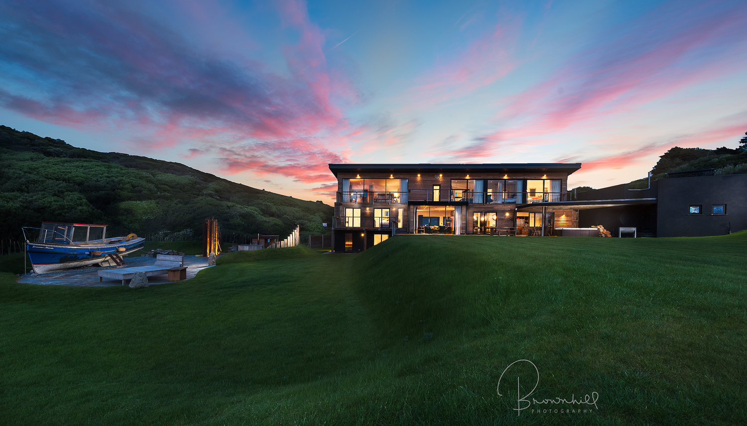 Wantson Beach holiday home by stephen brownhill