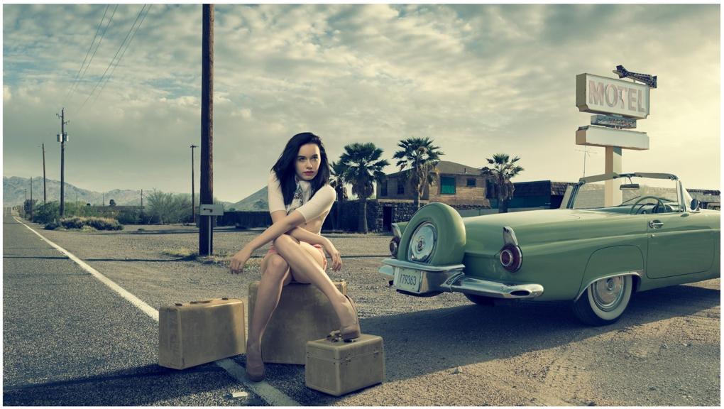 Desert Motel by Justin Lister