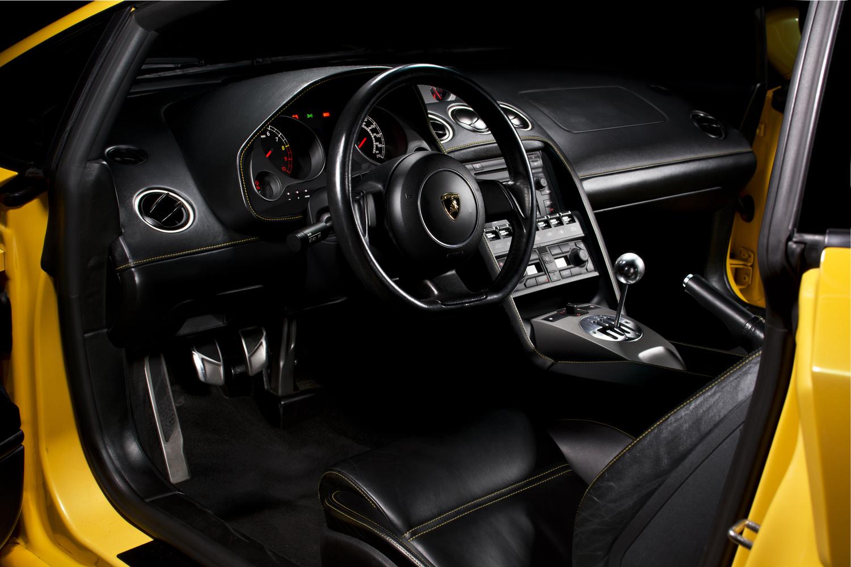 2005 Lamborghini Gallardo Interior by Stephen Flanscha
