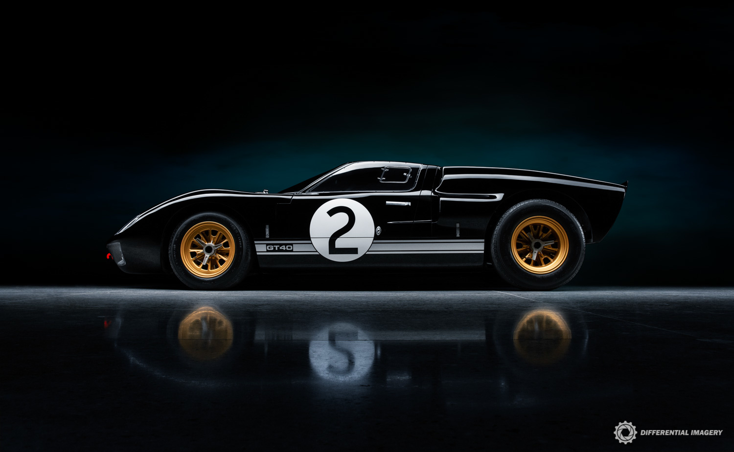 Ford GT40 by Stephen Flanscha