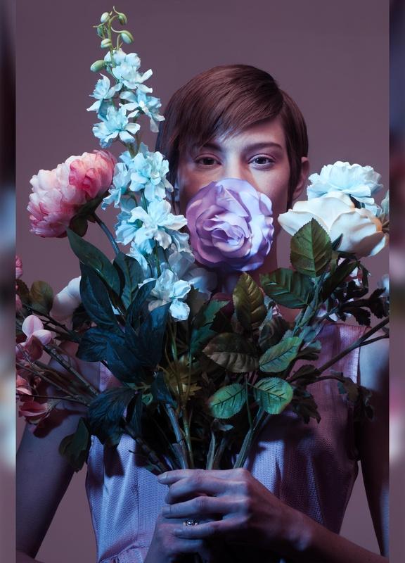 Fake Plastic  Flowers by merik goma