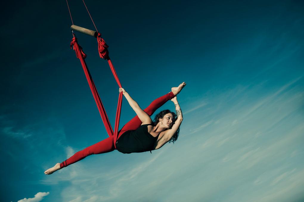 Aerial Yoga by Alexander Raditya