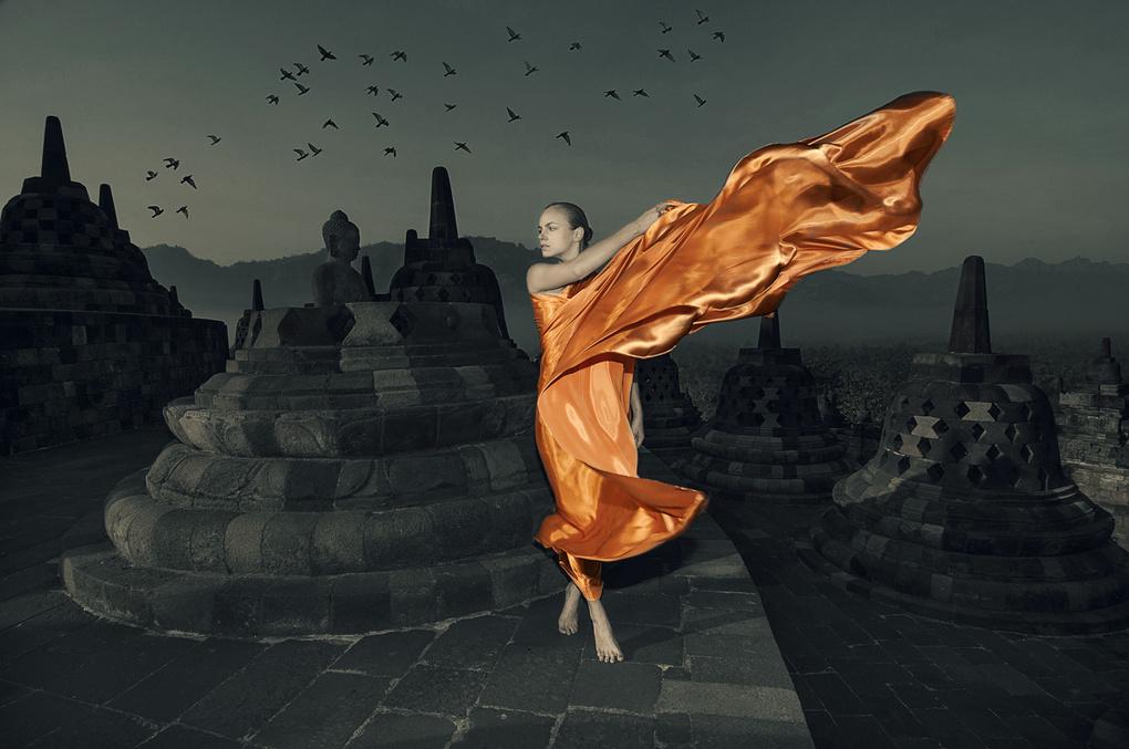 Beautiful Monk by Alexander Raditya