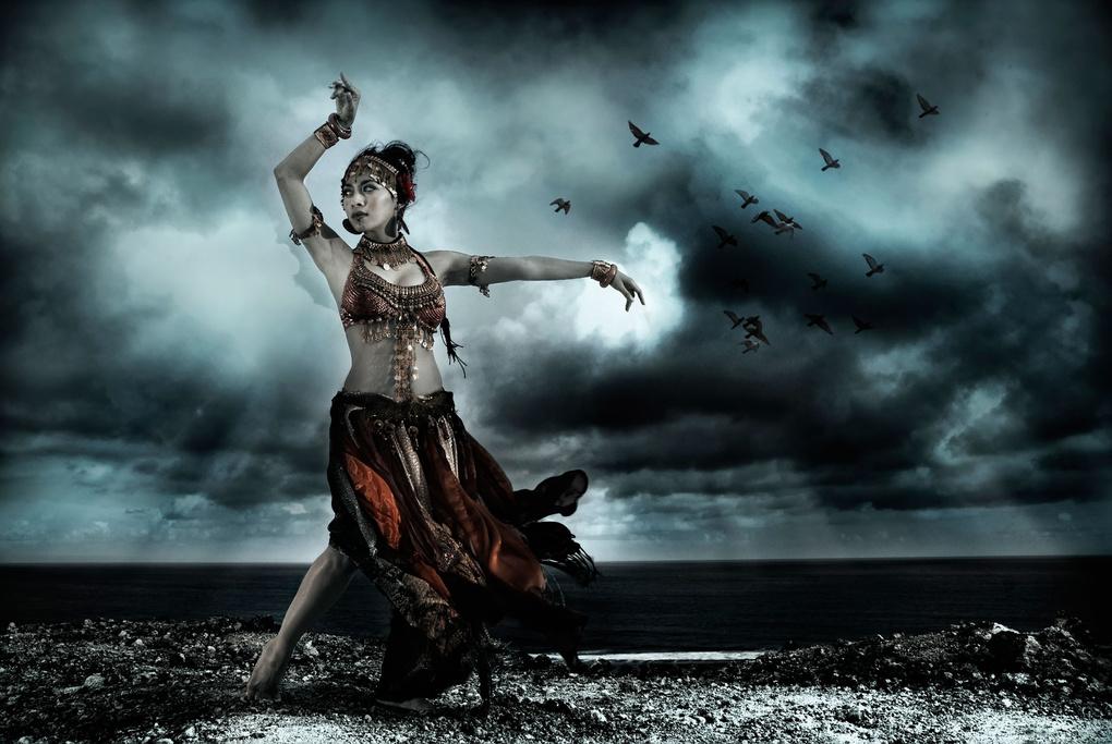 Balinese Modern Dancer by Alexander Raditya