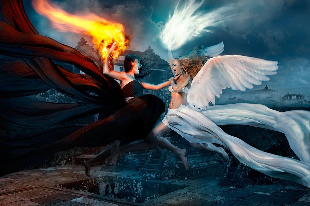 Battle of Angels by Alexander Raditya