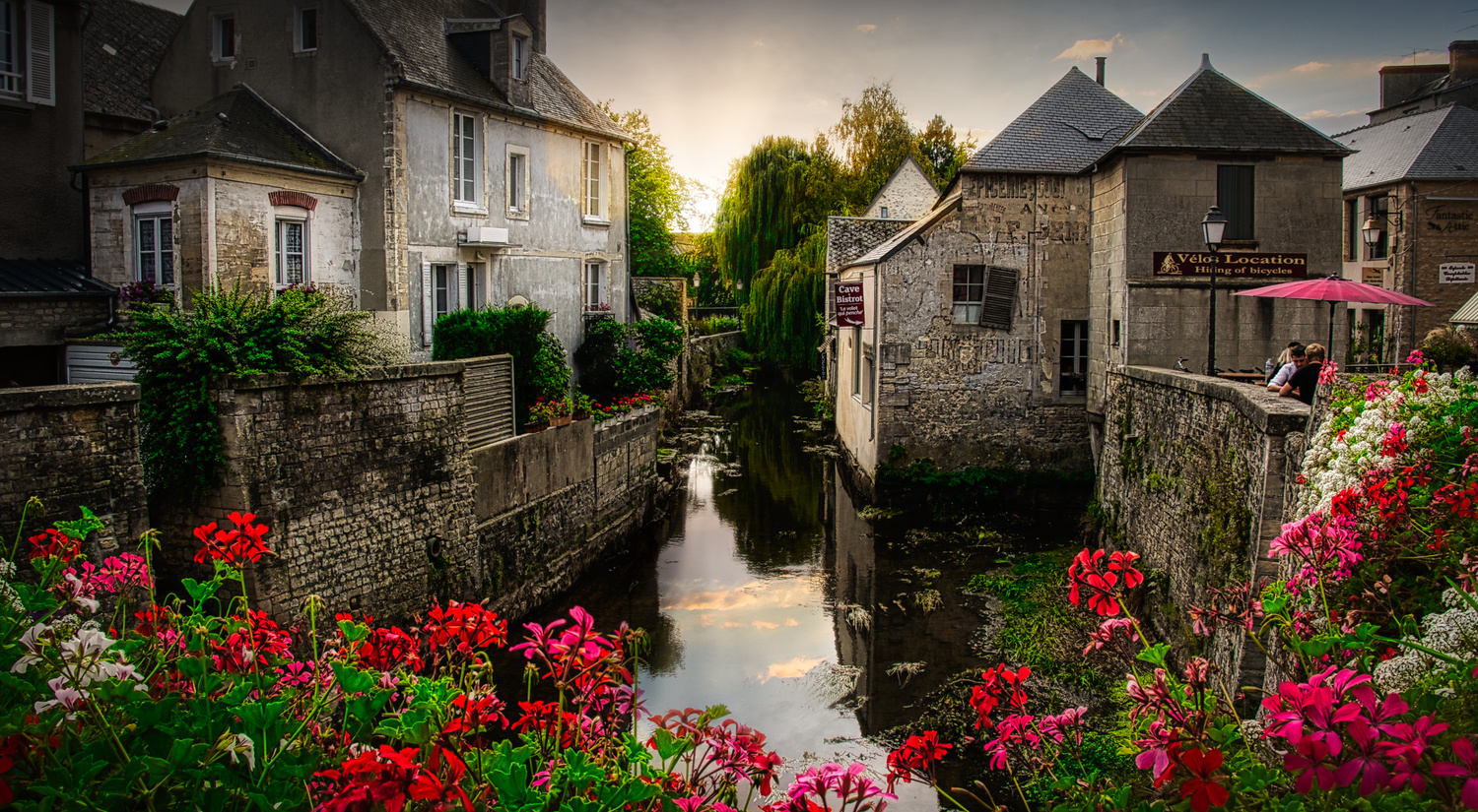 Bayeux Morning by Jim McAdory