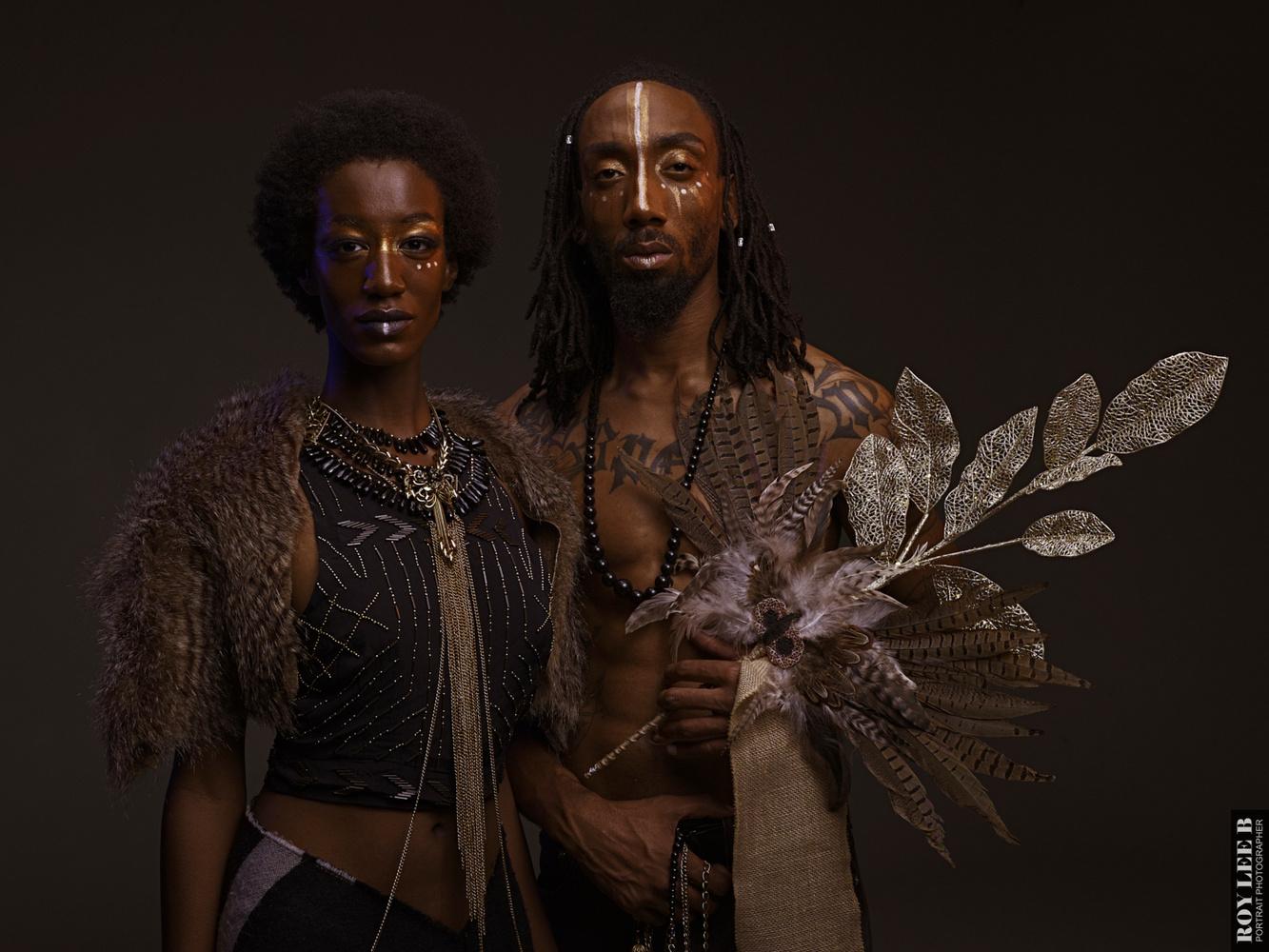 Afrofuturism by Roy Barnett