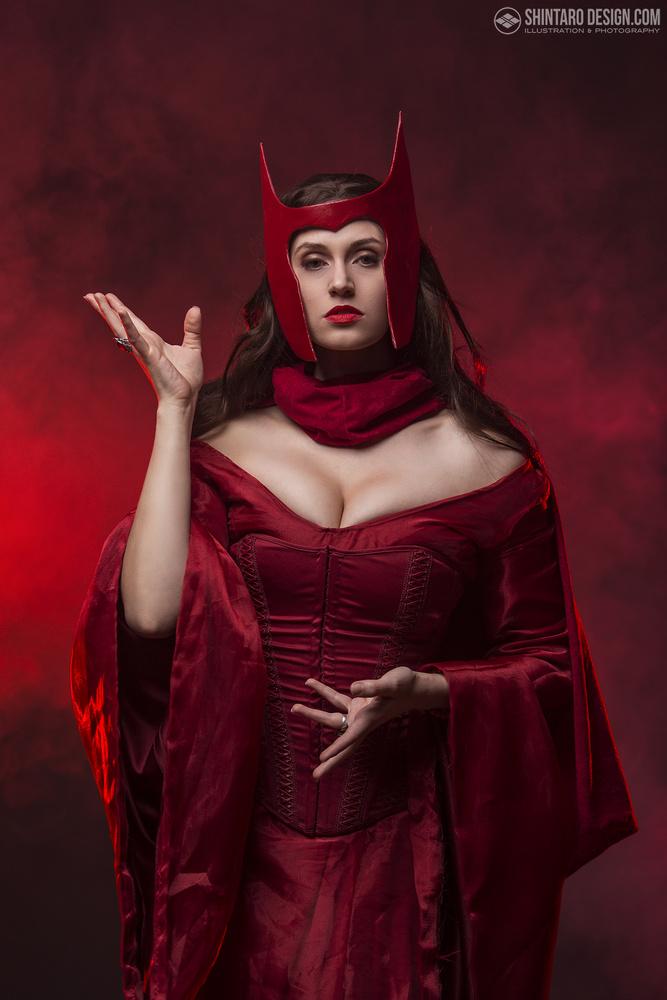 Scarlet Witch by Shintaro Maeda