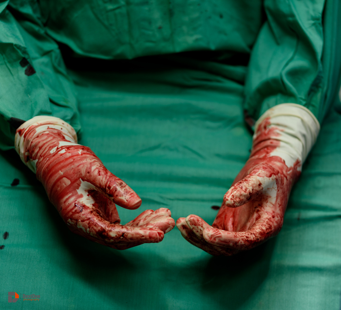 These Bloody Hands by DextDee Livingstone