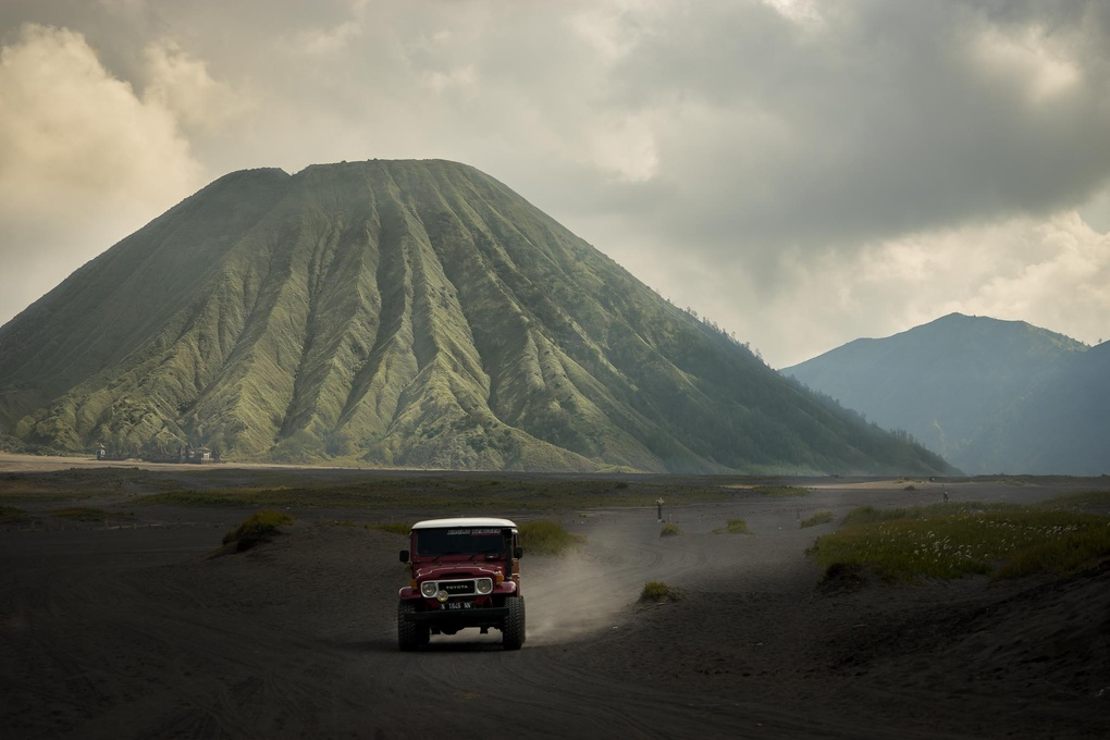 Driving from Mt. Bromo by Chris König