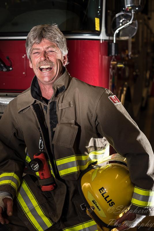 Boyhood Dream- Firefighter Project by Scott Shepherd
