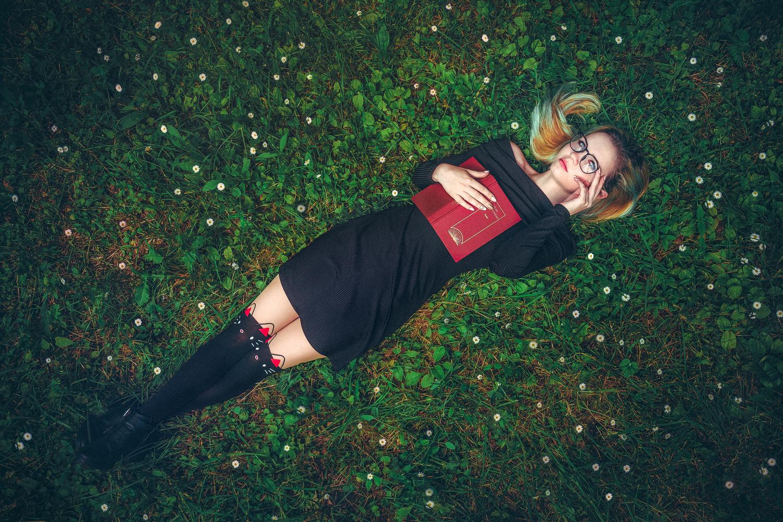 Geek girl by Vlad Moldovean