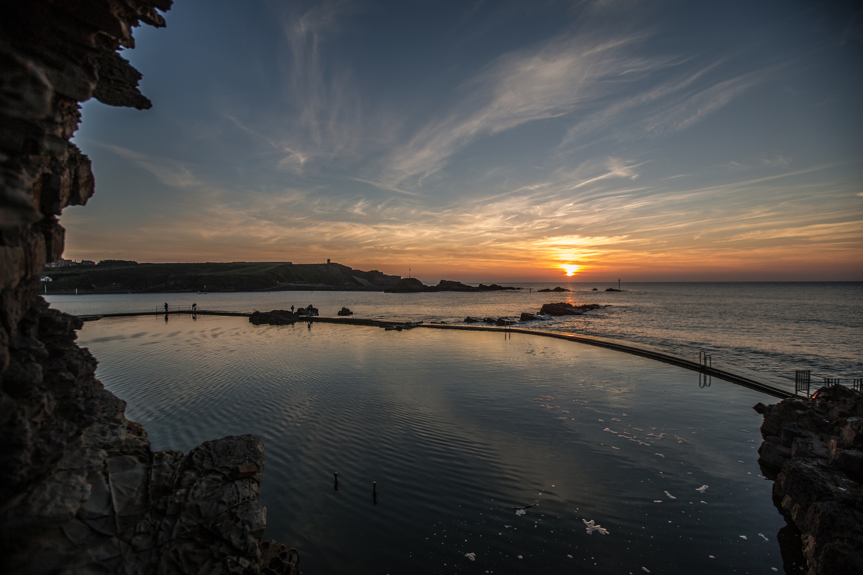 Cornwall sunset by Steve Bryant