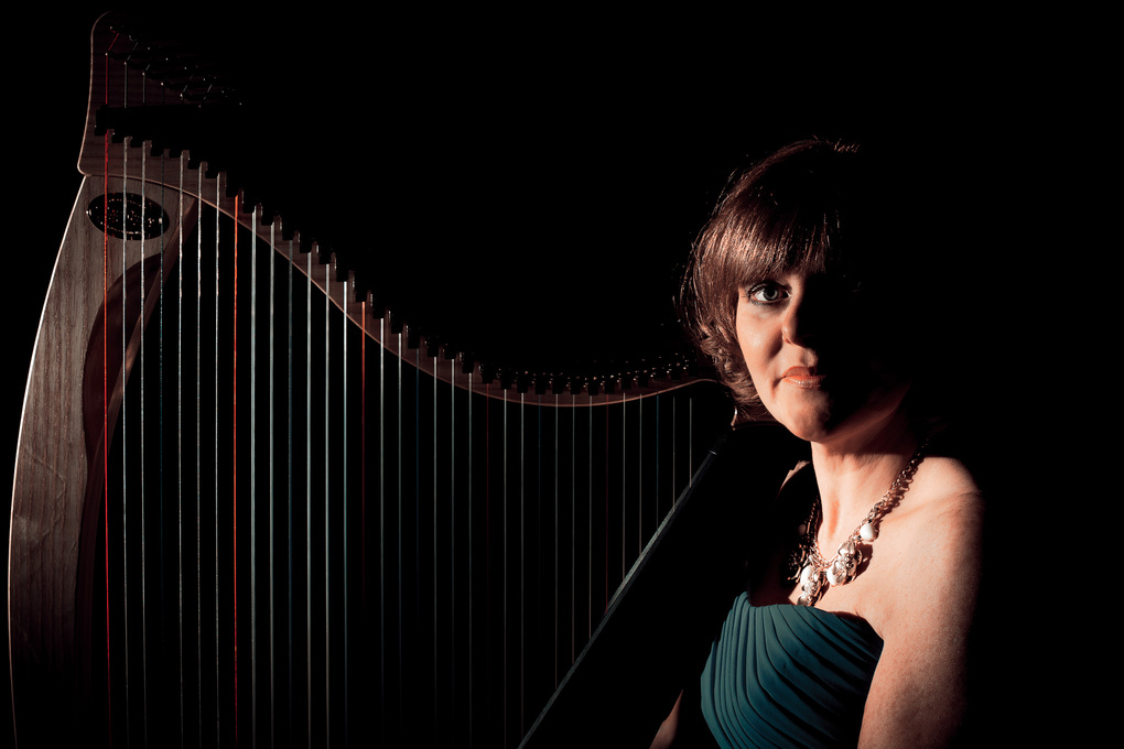 Harpist by Pete O'Brien