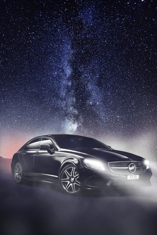 Mercedes CLS / Milkyway by Cédric Bloch