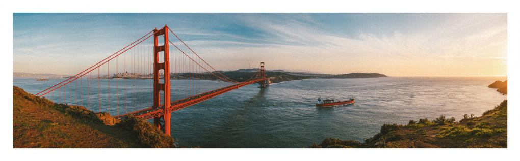 Golden Gate by Rafael Ribeiro