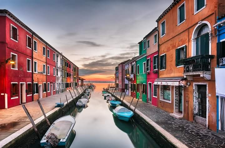 *** Burano, Island Of Colours *** by Shyama Prasad Mishra
