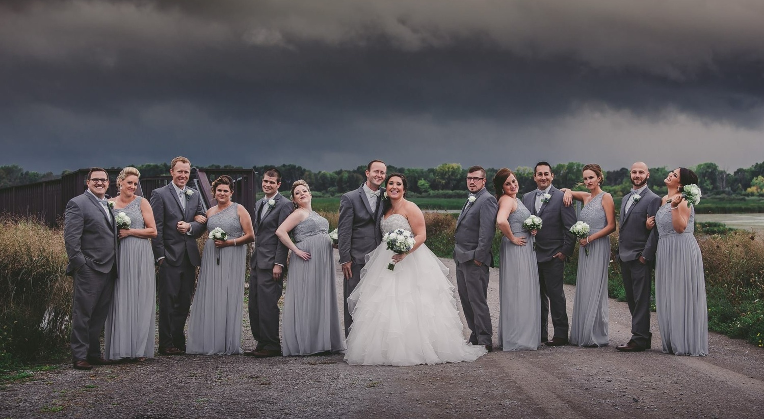 Bridal party by shelley vinson