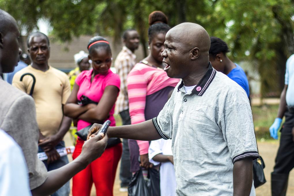 Ebola Unit - Liberia by Gil Gildner