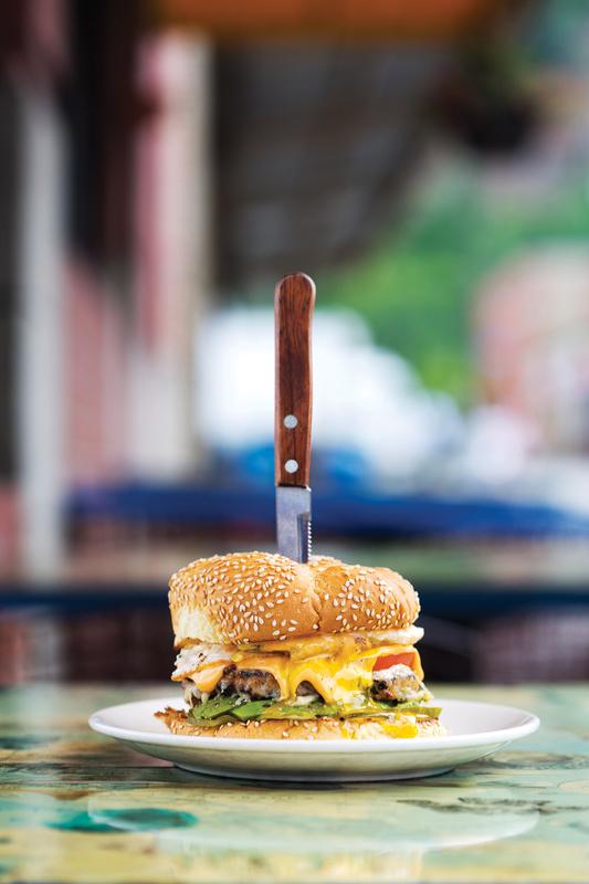 Kaya Burger by Michael Fornataro
