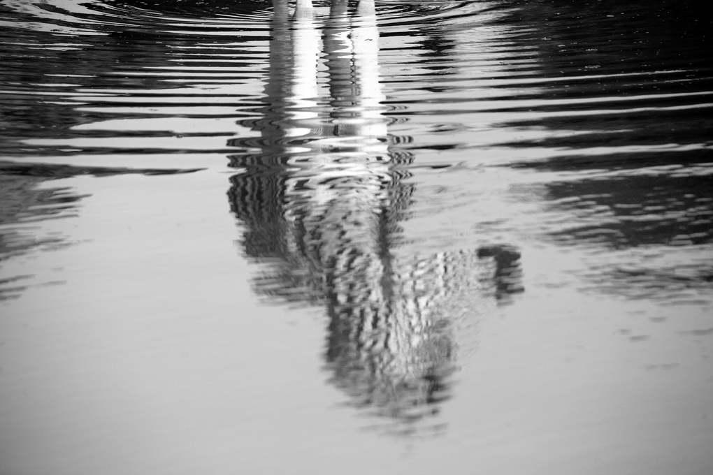 Striped Reflection by Gareth Earl Roberts
